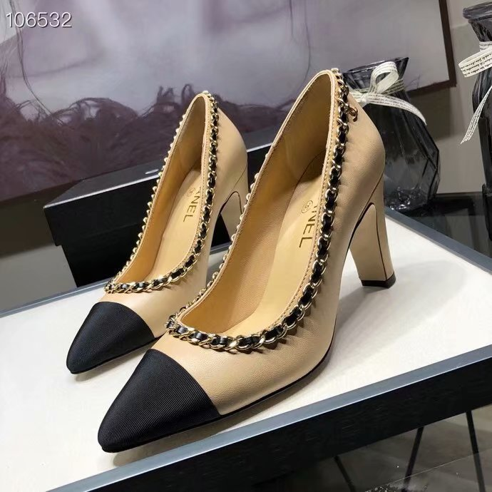 Chanel Shoes CH2595KFC-1 Heel height 8CM