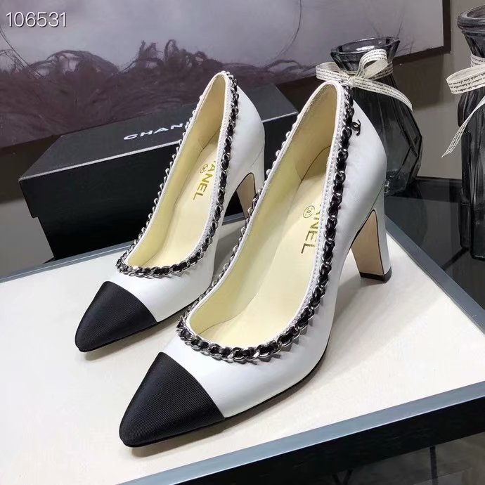 Chanel Shoes CH2595KFC-2 Heel height 8CM