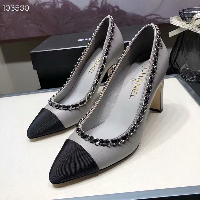 Chanel Shoes CH2595KFC-3 Heel height 8CM