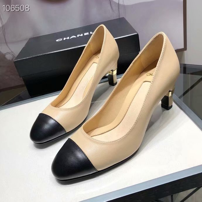 Chanel Shoes CH2596KFC-1 Heel height 6CM