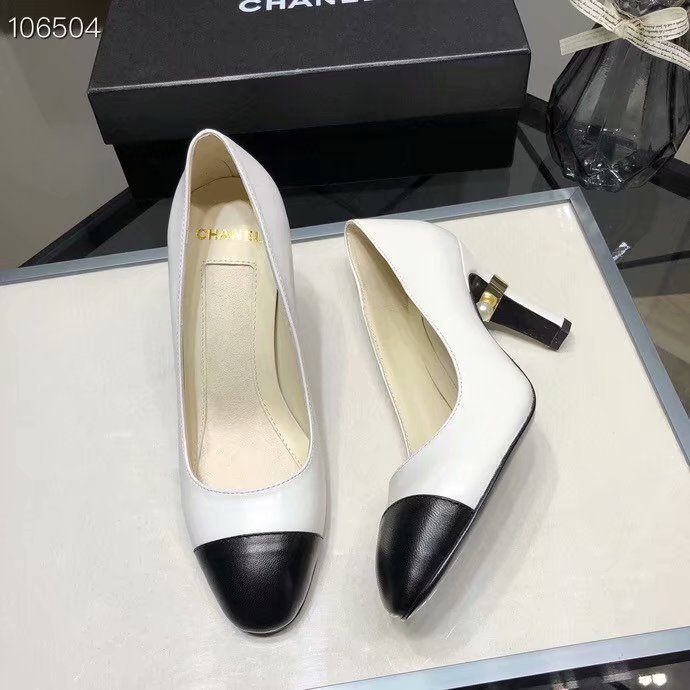 Chanel Shoes CH2597KFC-1 Heel height 8CM