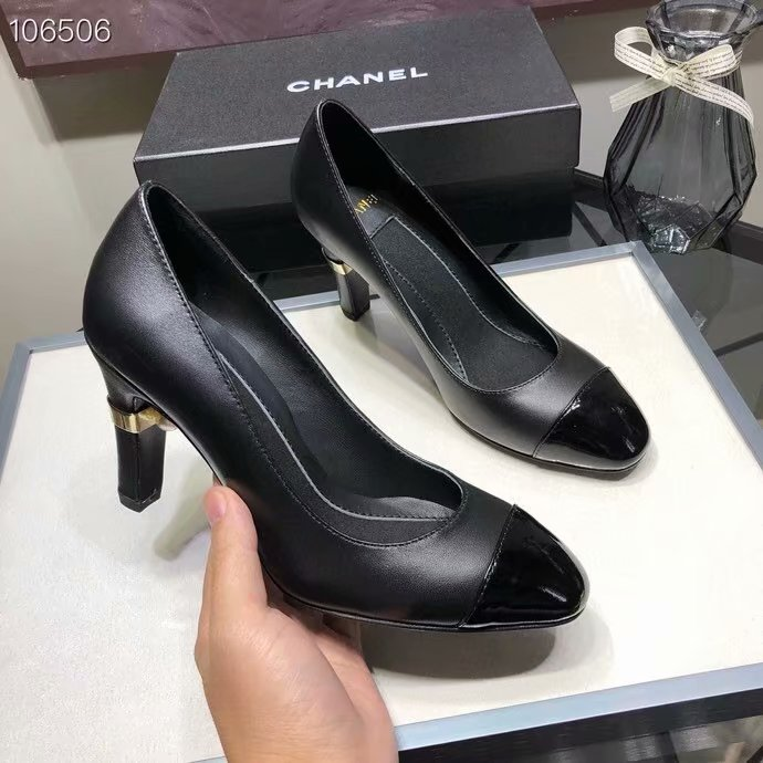 Chanel Shoes CH2597KFC-2 Heel height 8CM