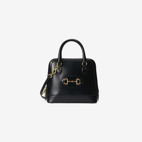 Gucci 1955 Horsebit small top handle bag 621220 black
