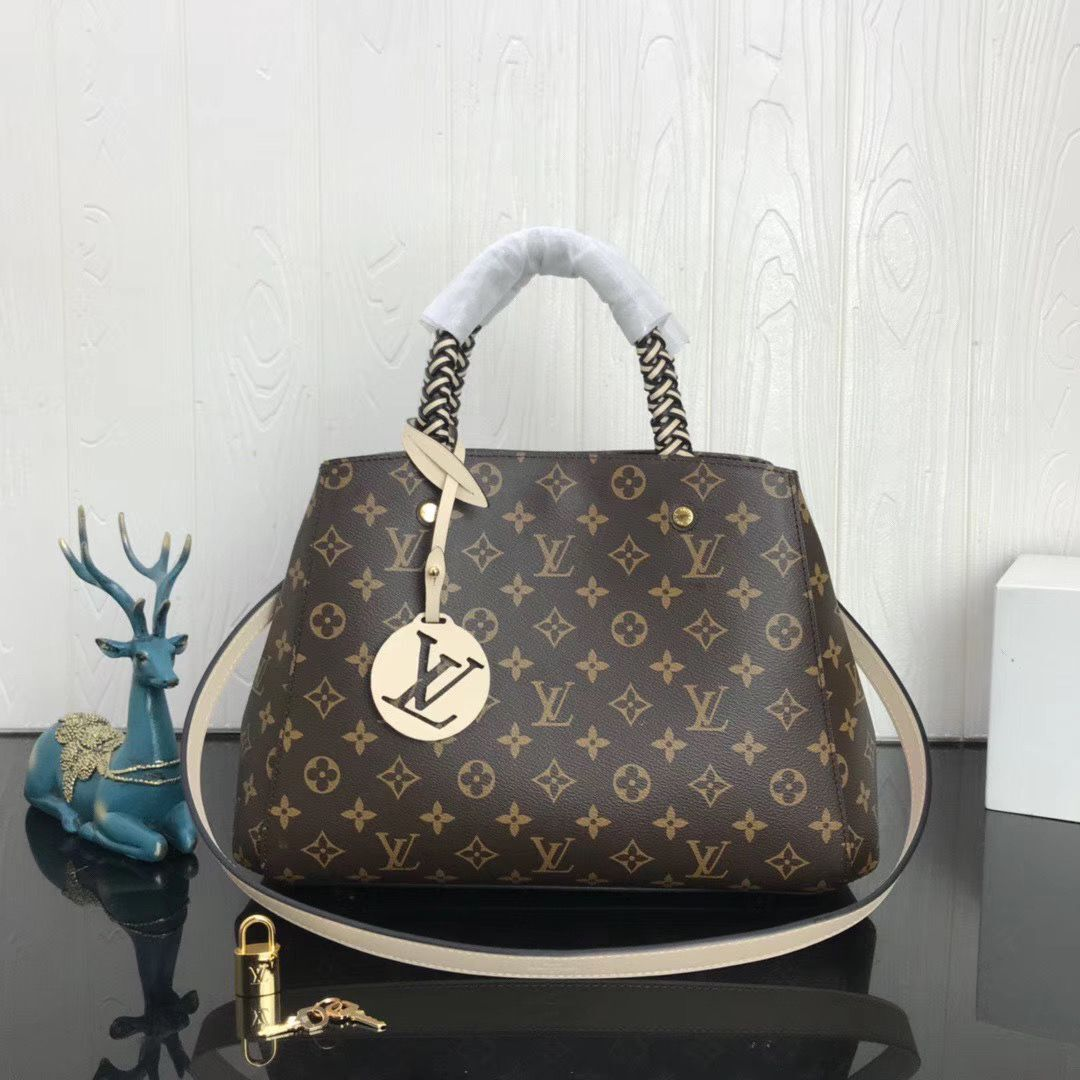 Louis Vuitton Original Monogram Canvas MONTAIGNE MM M45310
