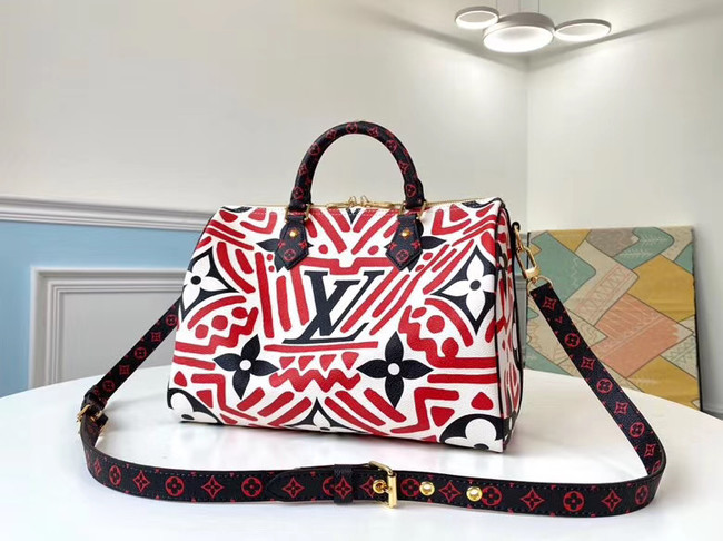 Louis Vuitton SPEEDY BANDOULIERE 30 M44572 red