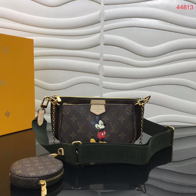 Louis Vuitton Original Monogram Canvas Disney x Mickey Mouse M44823 blackish green