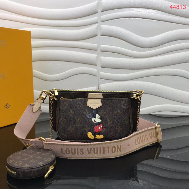 Louis Vuitton Original Monogram Canvas Disney x Mickey Mouse M44823 pink