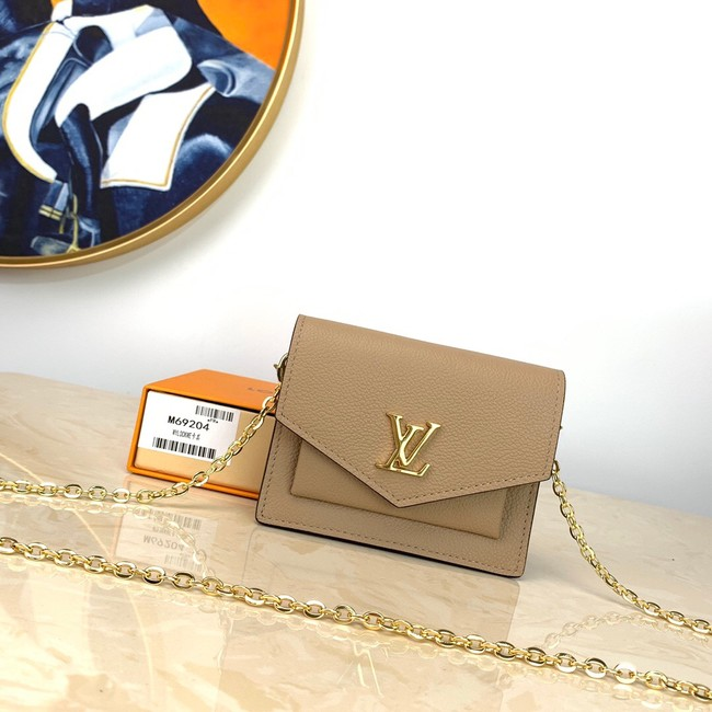 Louis Vuitton MYLOCKME Mini chain bag M69183 apricot