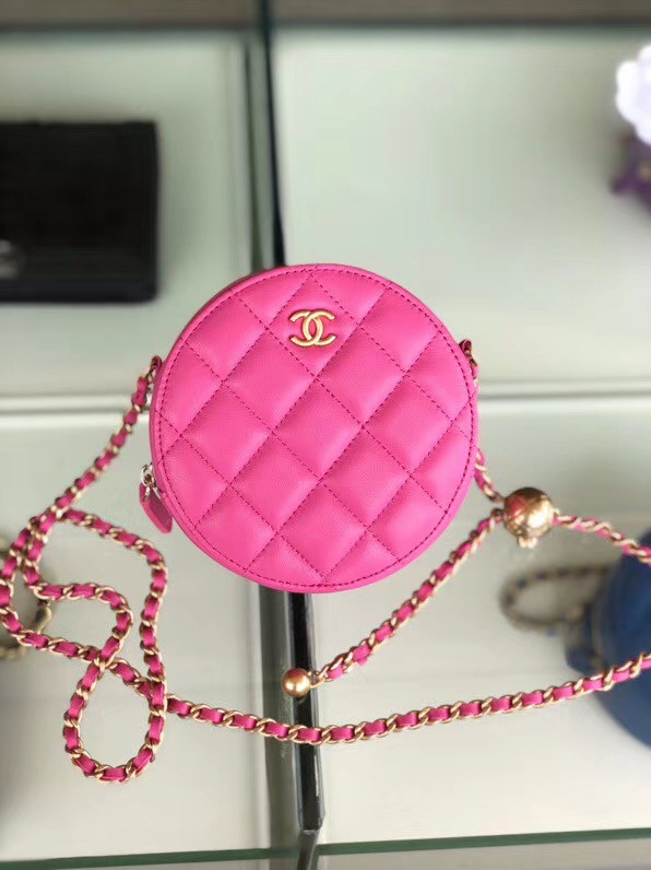 Chanel Original mini Sheepskin bag AS1449 rose