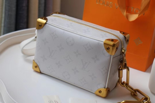 Louis Vuitton Original MINI SOFT TRUNK M68906 white