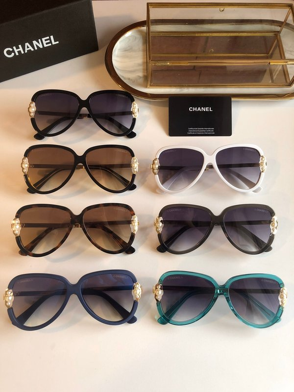 Chanel Sunglasses Top Quality CC6658_2757