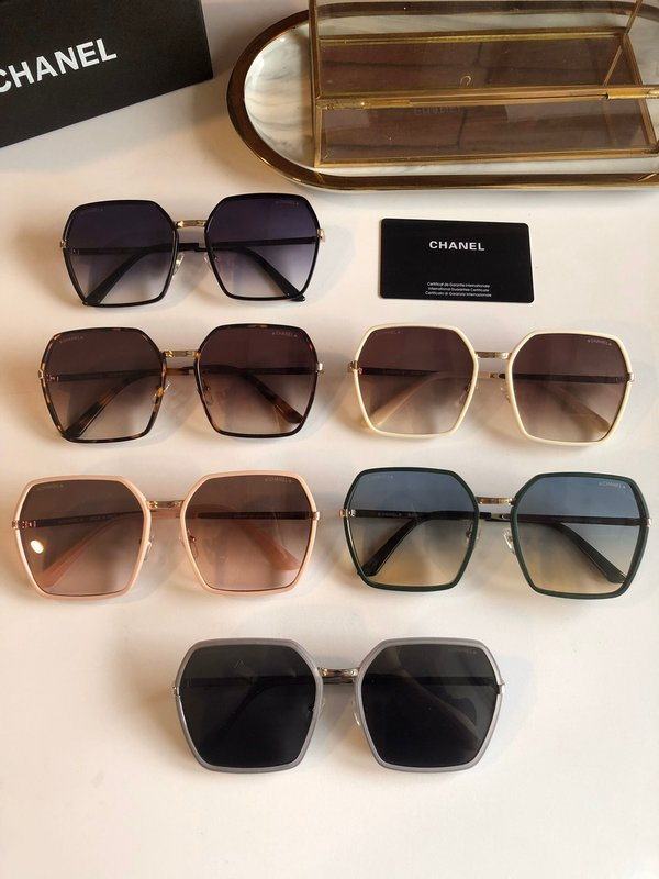 Chanel Sunglasses Top Quality CC6658_2767
