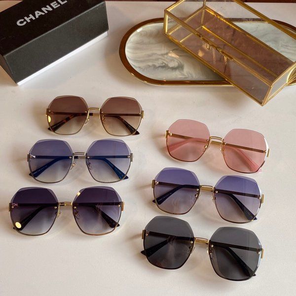 Chanel Sunglasses Top Quality CC6658_2776