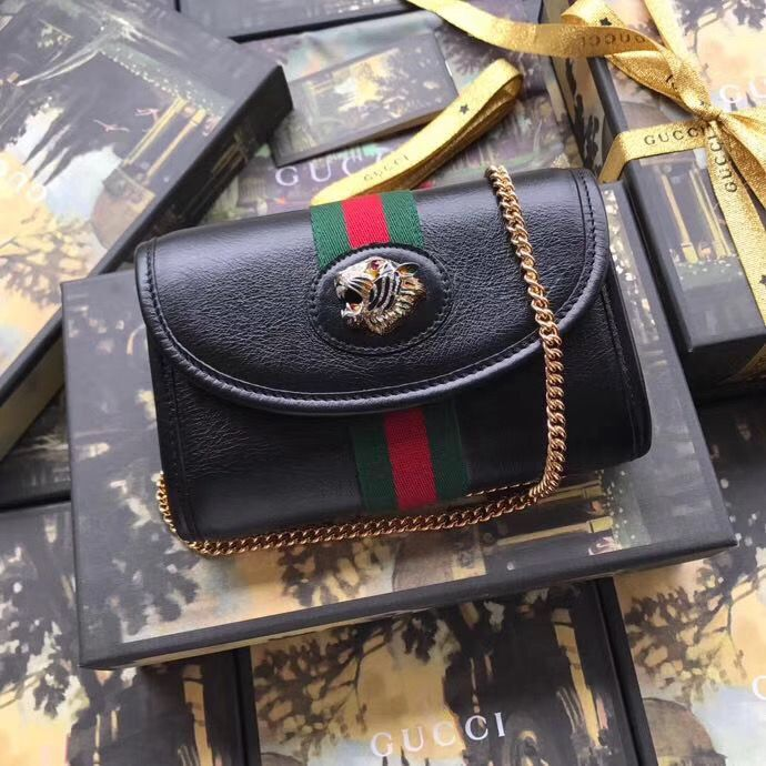 Gucci Rajah mini bag 573797 Black