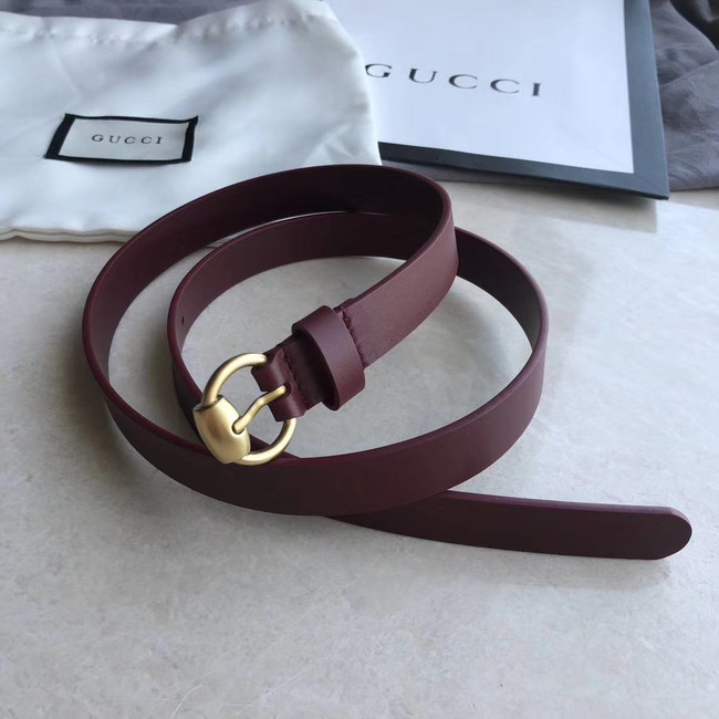 Gucci Original Calf Leather 20MM 3305-3