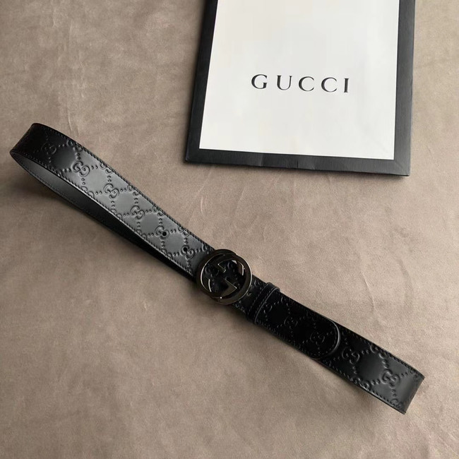 Gucci Original Calf Leather 35MM 3306-12