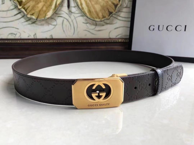 Gucci Original Calf Leather 35MM 3306-6