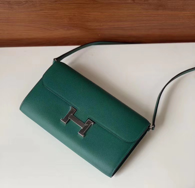 Hermes Constance to go mini Bag H4088 blackish green