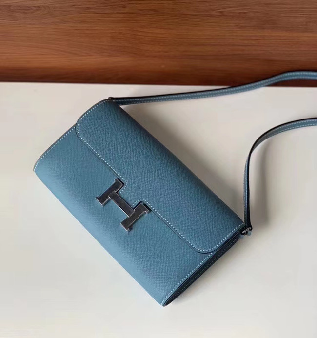 Hermes Constance to go mini Bag H4088 blue
