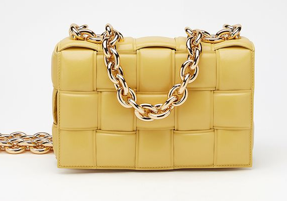Bottega Veneta THE CHAIN CASSETTE Expedited Delivery 631421 yellow