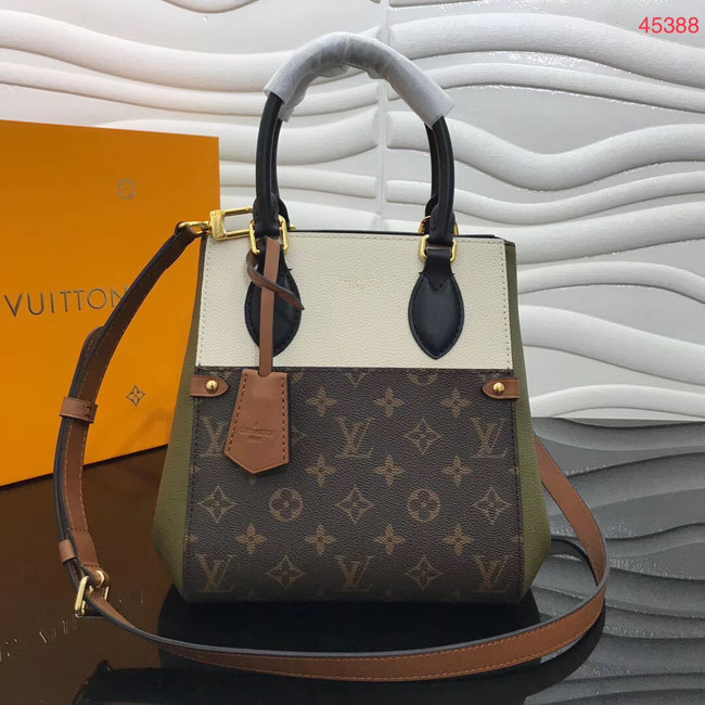 Louis Vuitton Original FOLD TOTE medium M45409 Khaki&black&white