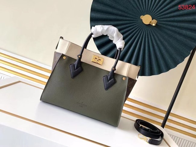 Louis Vuitton Original ON MY SIDE M53824 Khaki&black