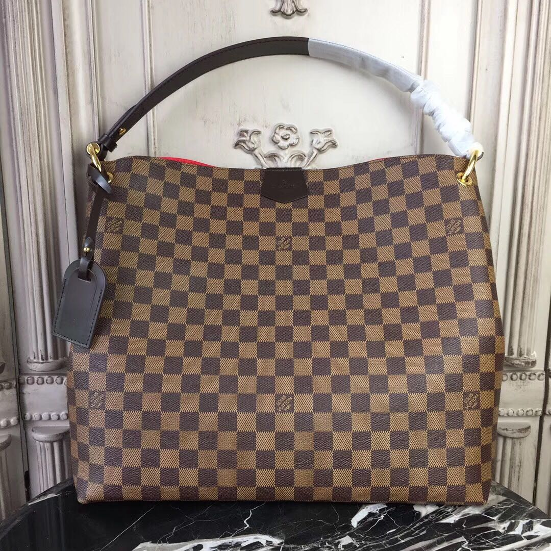 Louis Vuitton Damier Ebene Canvas GRACEFUL GM N44046
