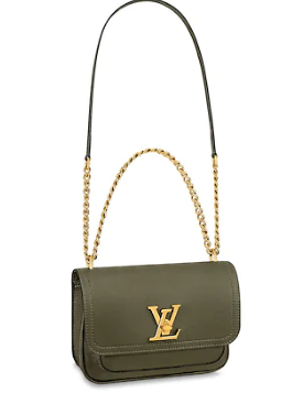 Louis Vuitton Original Lockme chain small handbag M57067 Khaki green