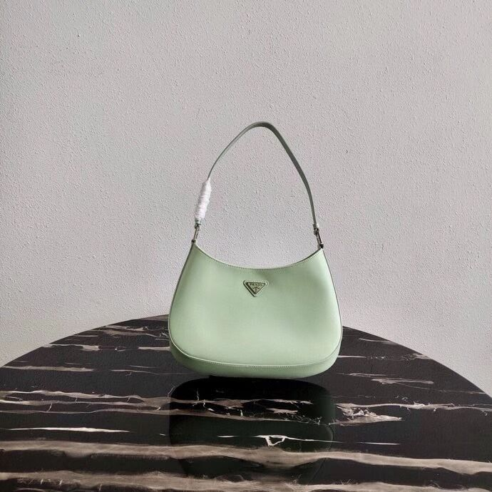 Prada Saffiano leather shoulder bag 2BC499 green