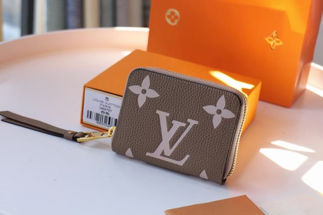 Louis Vuitton Original LV CRAFTY ZIPPY M69797 Khaki
