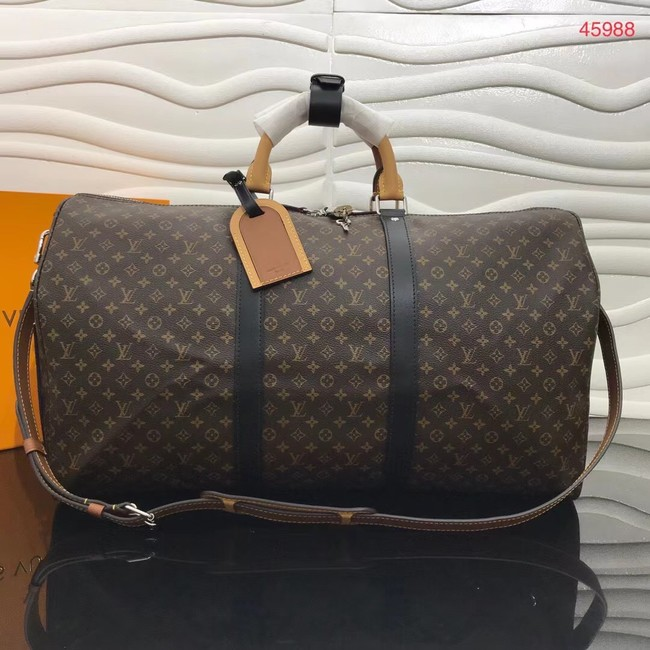 Louis vuitton KEEPALL BANDOULIERE 50 travel bag M45988