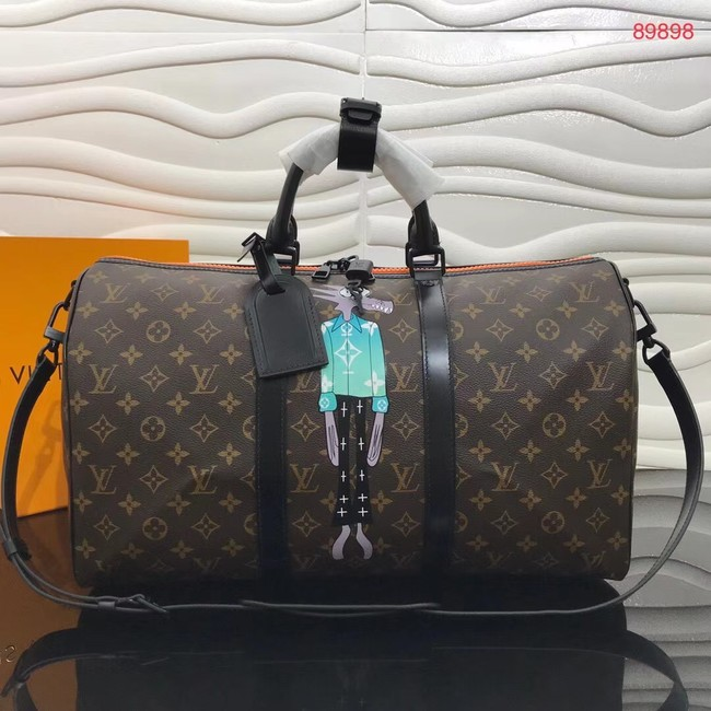 Louis vuitton KEEPALL BANDOULIERE 50 travel bag M89898