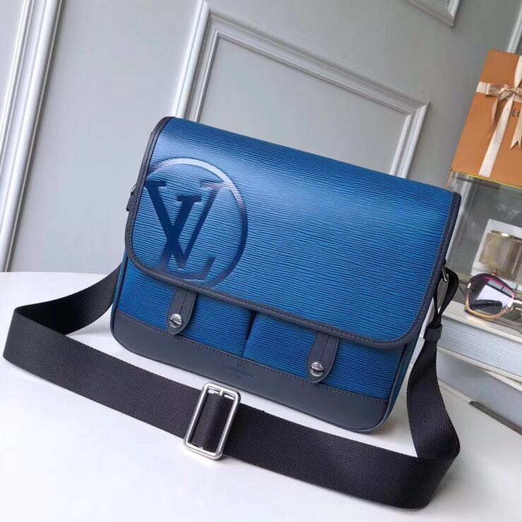 Louis vuitton original leather M53494 blue