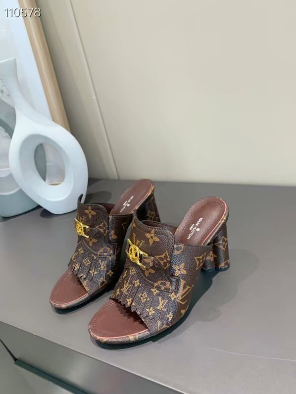 Louis Vuitton Shoes LV1058DS-2 Heel height 10CM