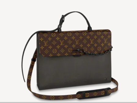 Louis vuitton ROBUSTO BRIEFCASE M30591 Khaki Green