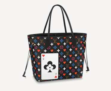 Louis Vuitton GAME ON NEVERFULL MM M57483 black