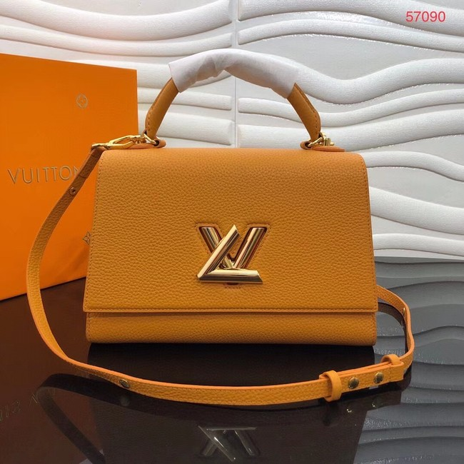 Louis vuitton TWIST ONE HANDLE MM M57090 yellow