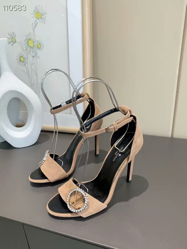 Louis Vuitton Shoes LV1059DS-5 Heel height 10CM