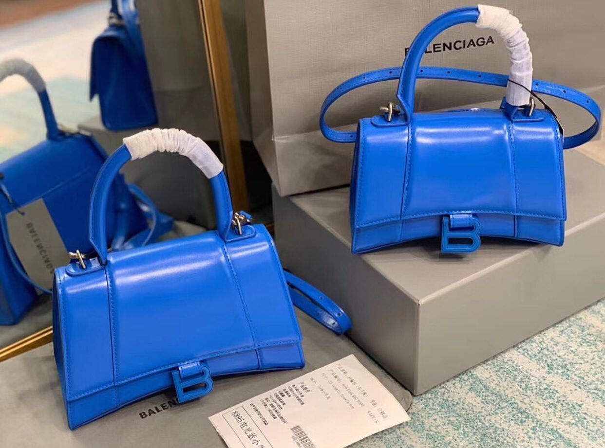 Balenciaga Original Leather 25955 Blue