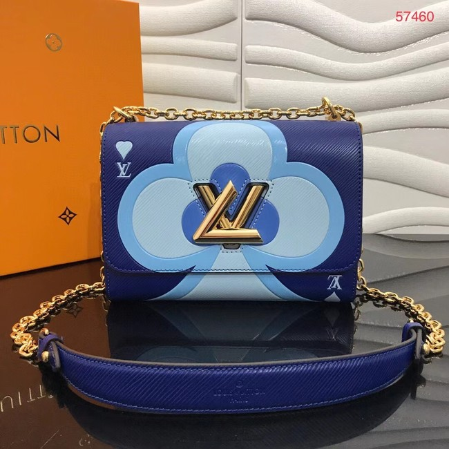 Louis Vuitton GAME ON TWIST PM M57460 blue