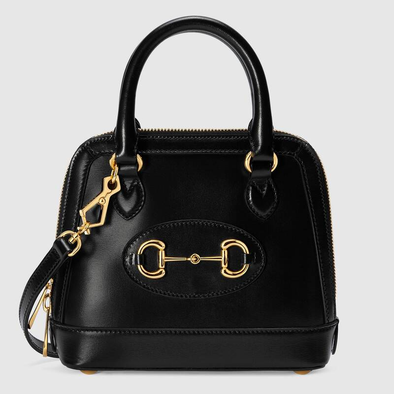 Gucci Horsebit 1955 mini top handle bag 640716 black