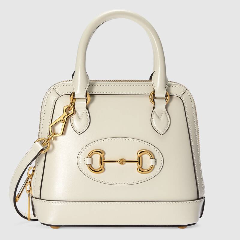 Gucci Horsebit 1955 mini top handle bag 640716 white