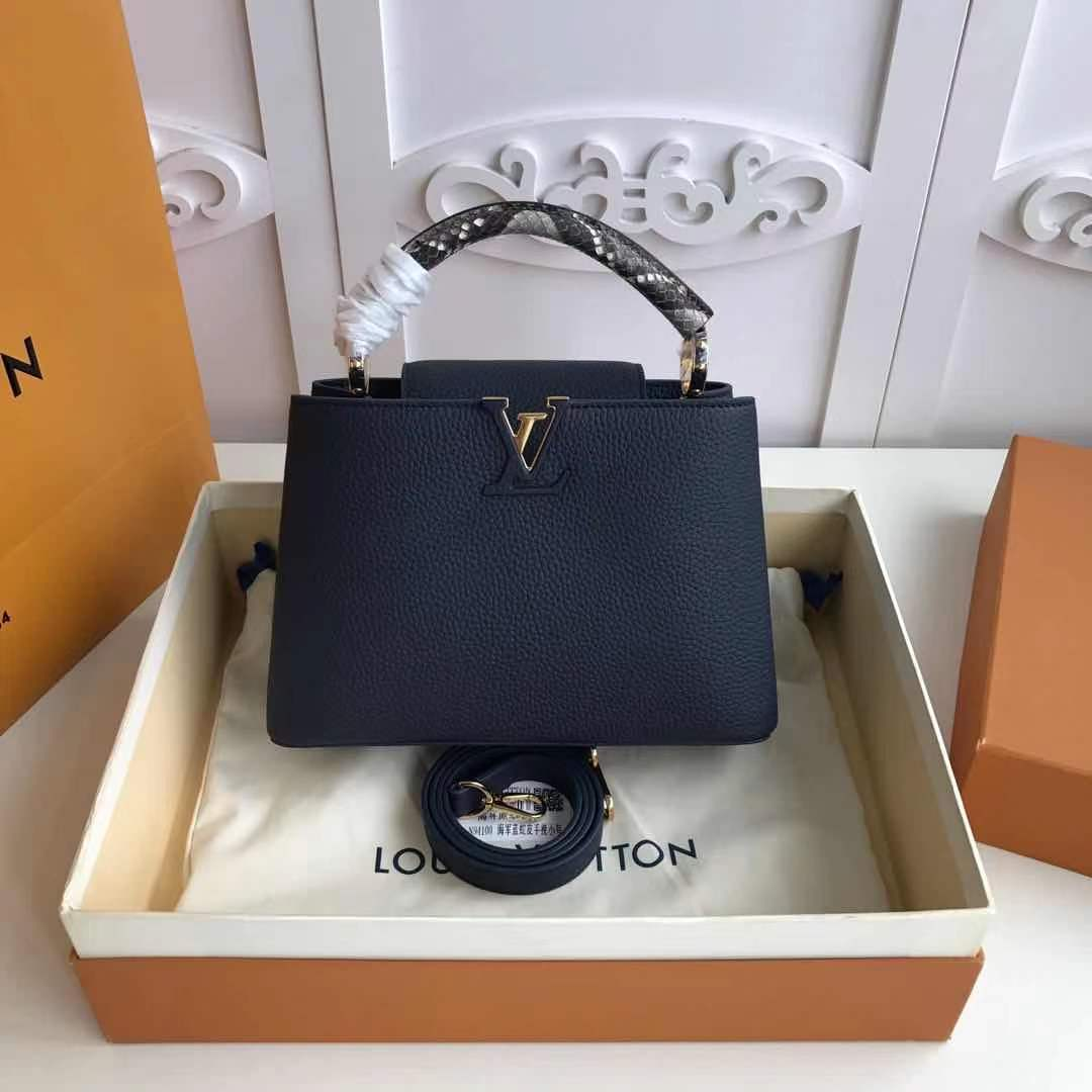 Louis Vuitton CAPUCINES PM M523867 Royal Blue