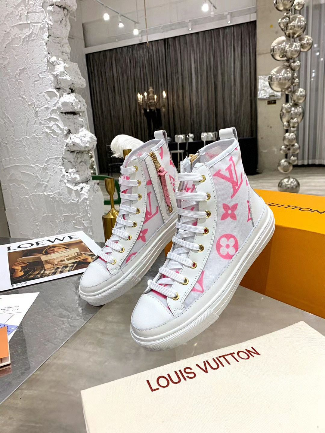 Louis Vuitton Shoes LV10577 Pink