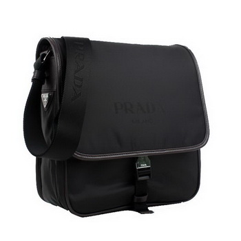 Prada V166 064 F0002 Fabric Messenger Bag