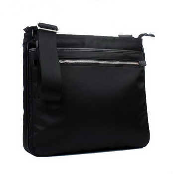 Prada Vela Fabric Messenger Bag BT0251 Black