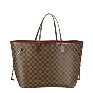 Louis Vuitton Damier Ebene Canvas Neverfull GM N51106